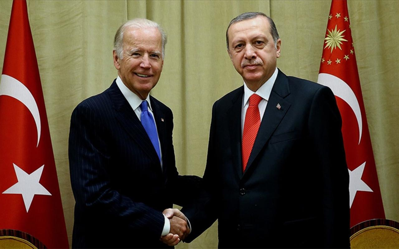 Cumhurbaşkanı Erdoğan ile ABD Başkanı Biden görüştü