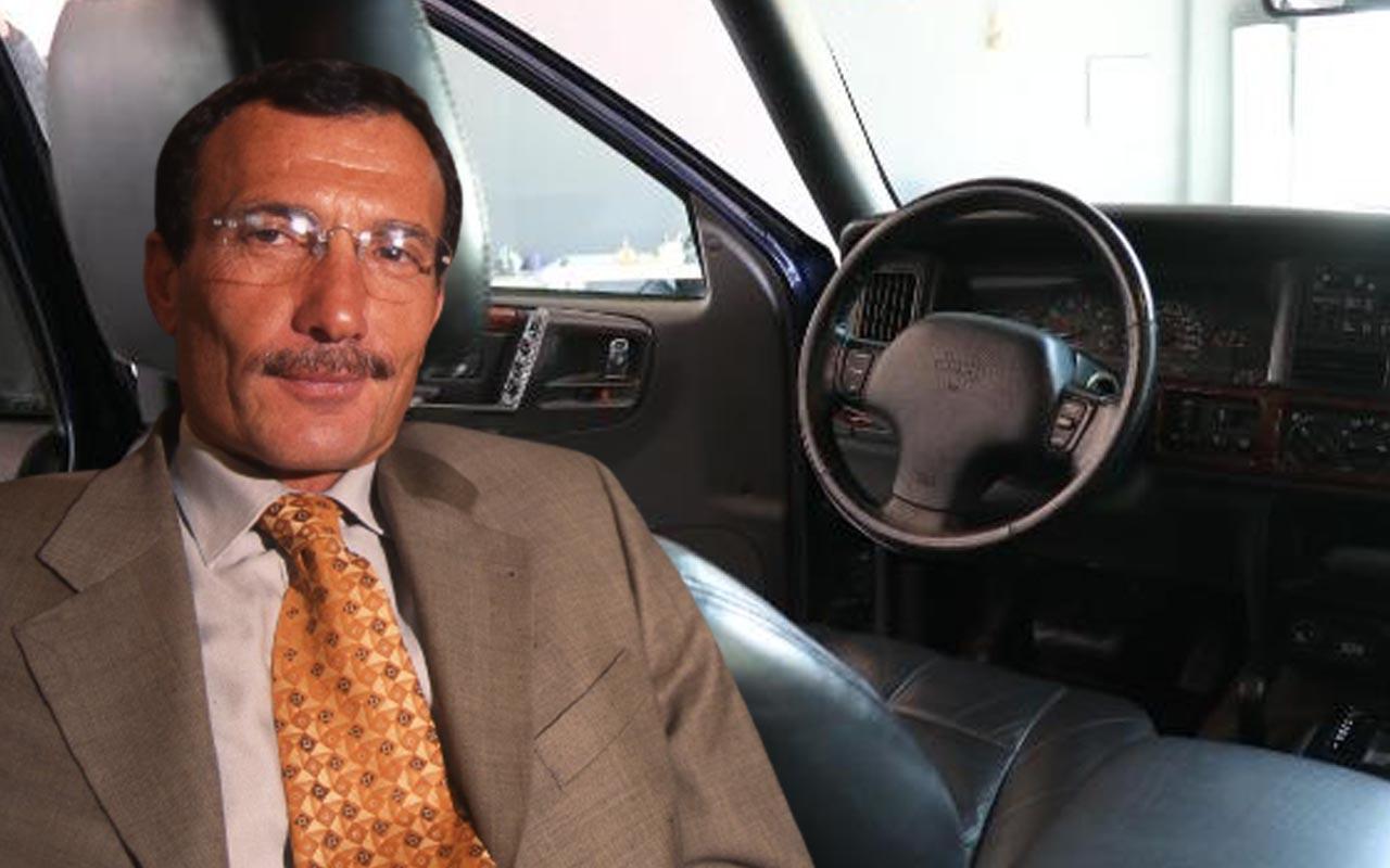 'Efsane Vali' Recep Yazıcıoğlu'nun makam aracı 260 bin liraya satışa çıkarıldı