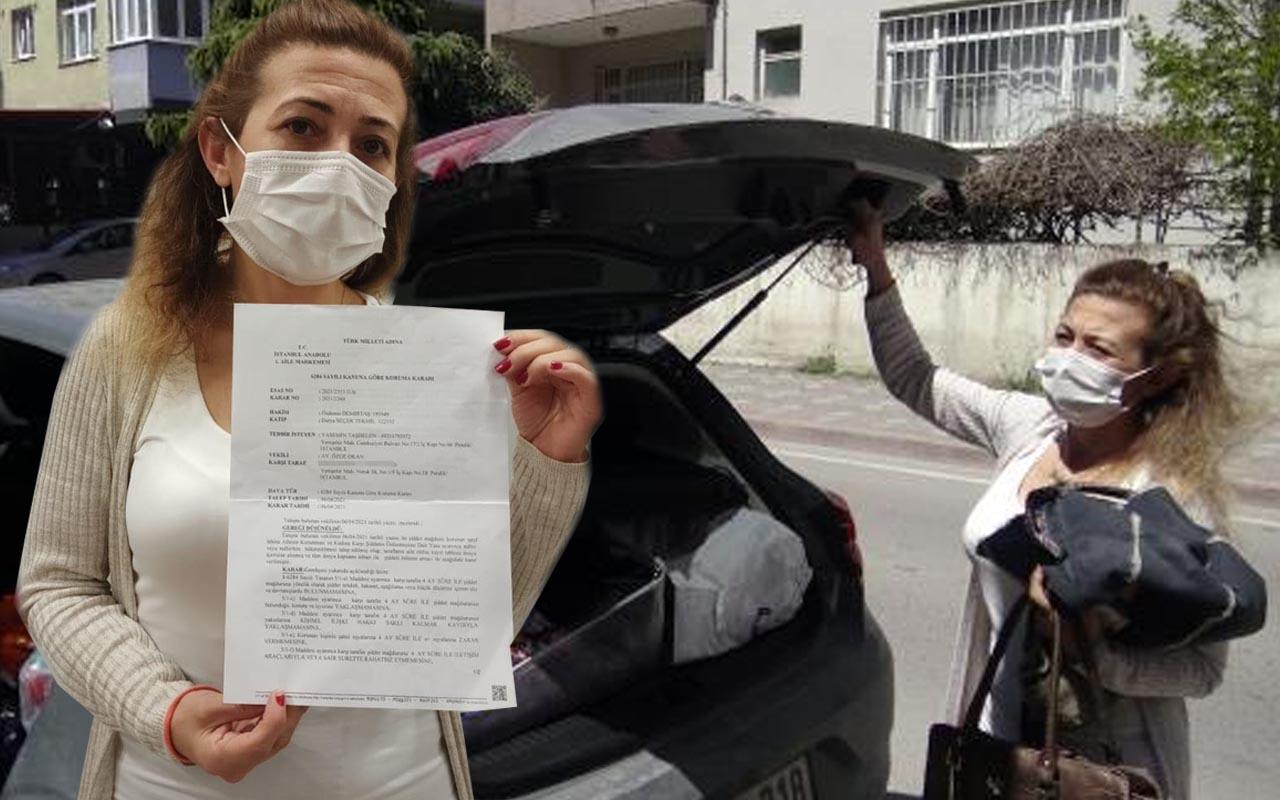 Eski sevgilisi tüm parasını elinden aldı! Ölüm tehdidi alan kadın korkudan otomobilde yaşıyor