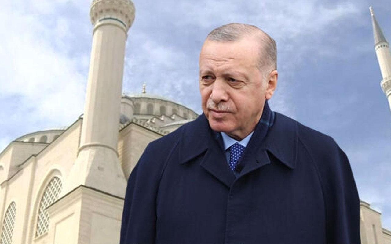 Cumhurbaşkanı Erdoğan'dan Cuma namazı çıkışı açıklamalar sizden ricam tedbirlere uyalım