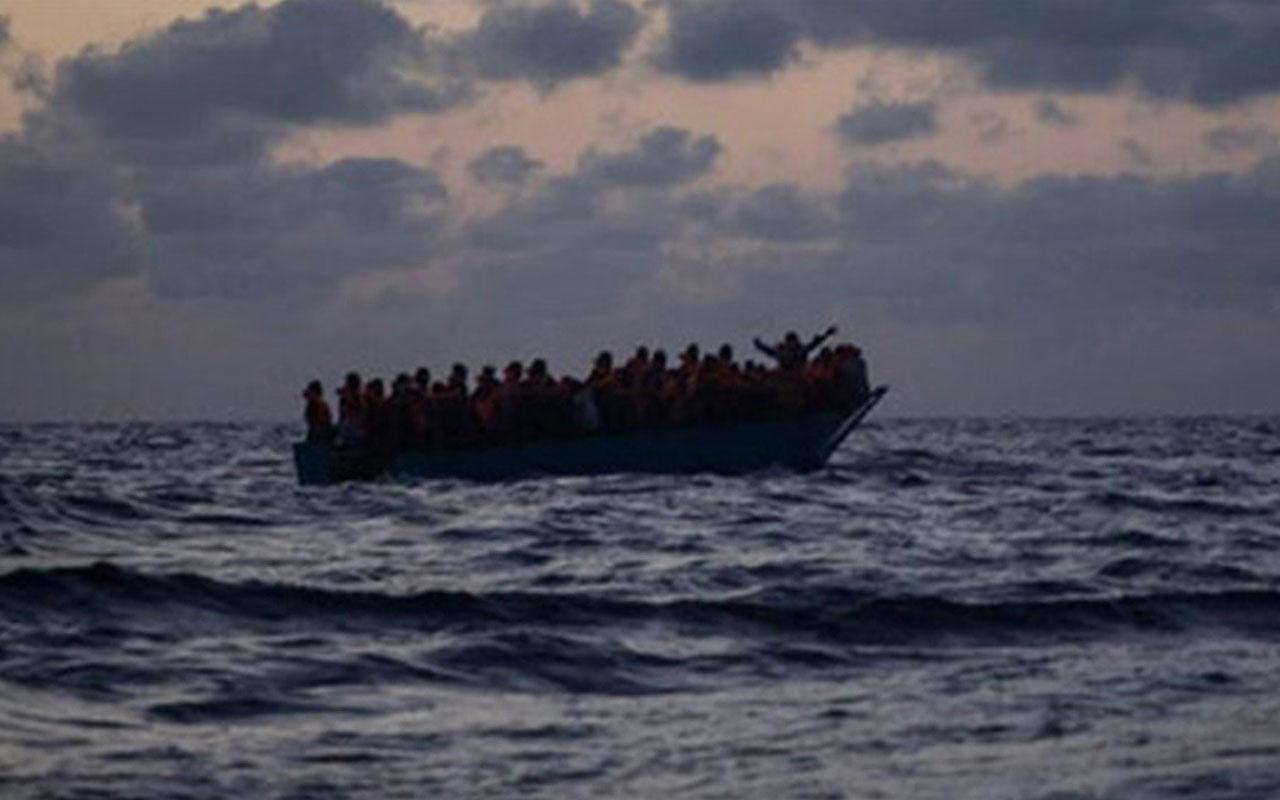 Akdeniz'de tekne faciası! 100'ün üzerinde göçmen yaşamını yitirdi