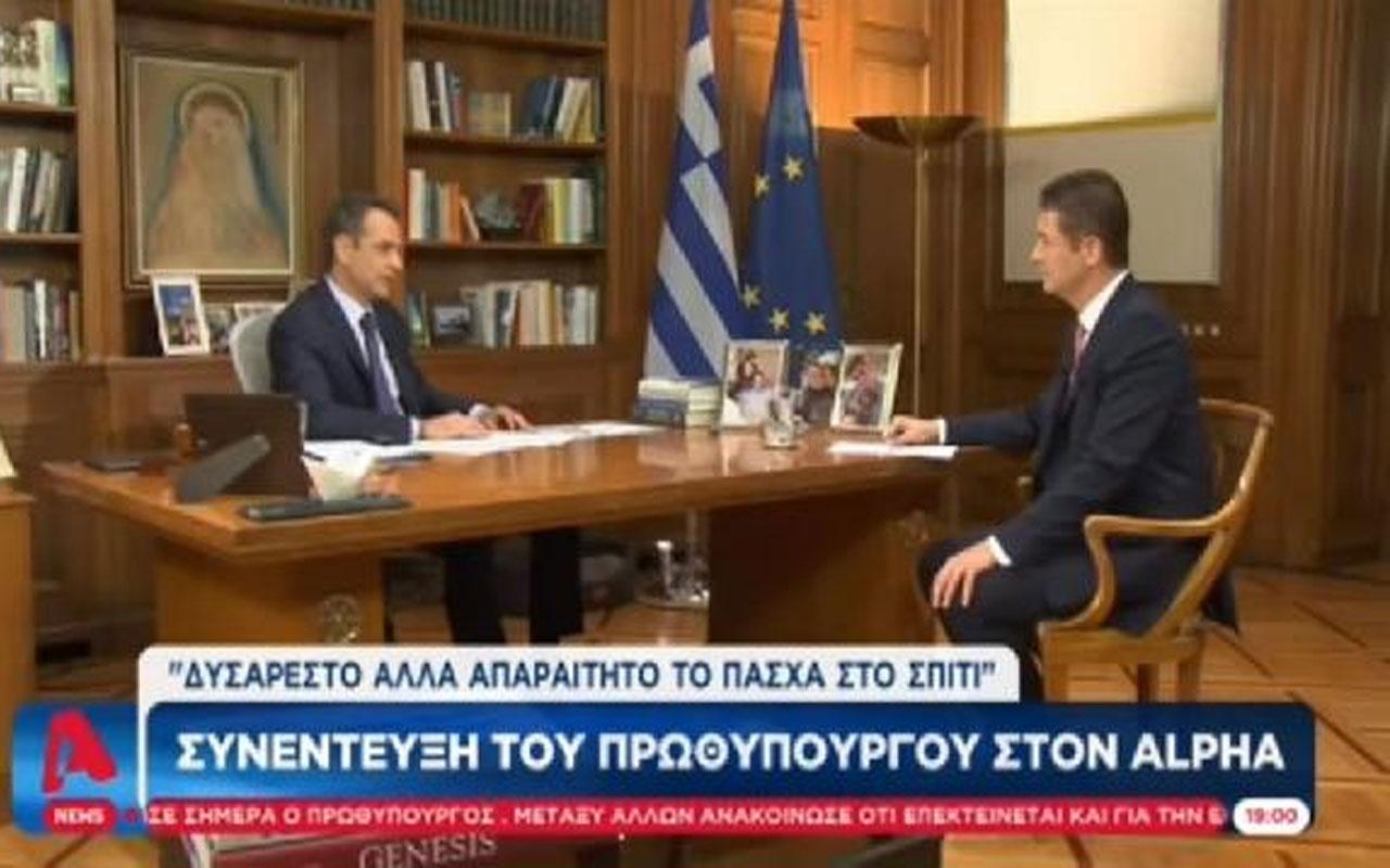 Yunanistan Başbakanı Miçotakis: Cumhurbaşkanı Erdoğan ile gerçekten konuşmamız gerekiyor