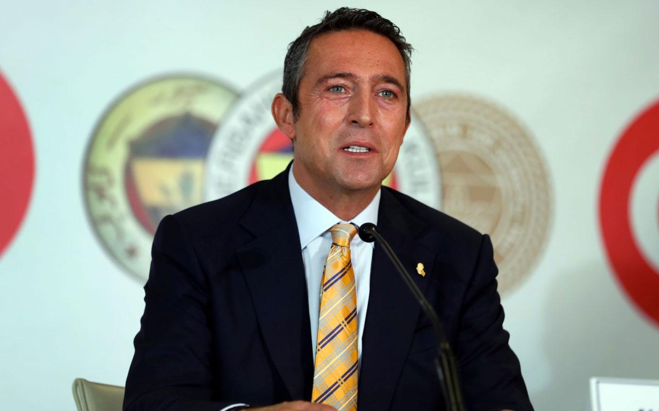 Fenerbahçe Başkanı Ali Koç basının karşısına çıkıyor
