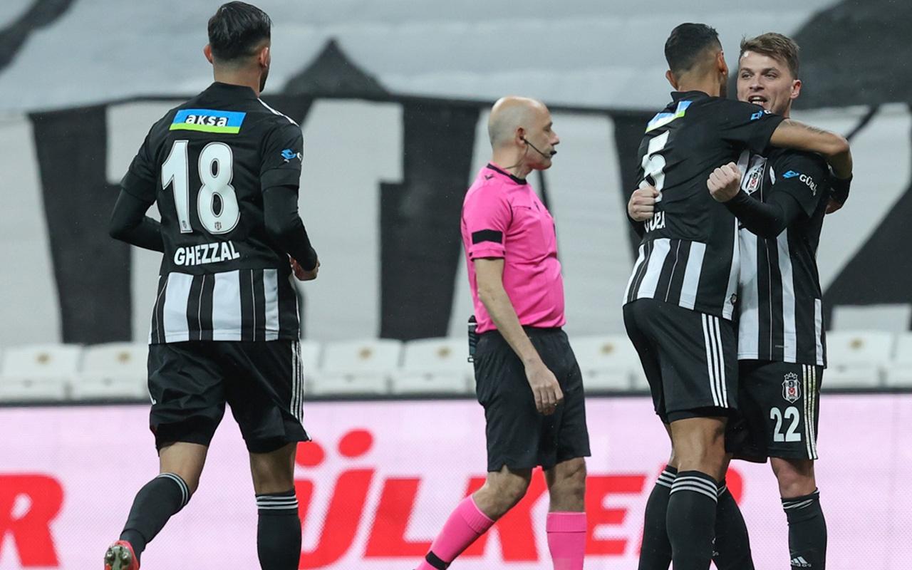 Beşiktaş- Kayserispor Süper Lig maç sonucu: 3-1