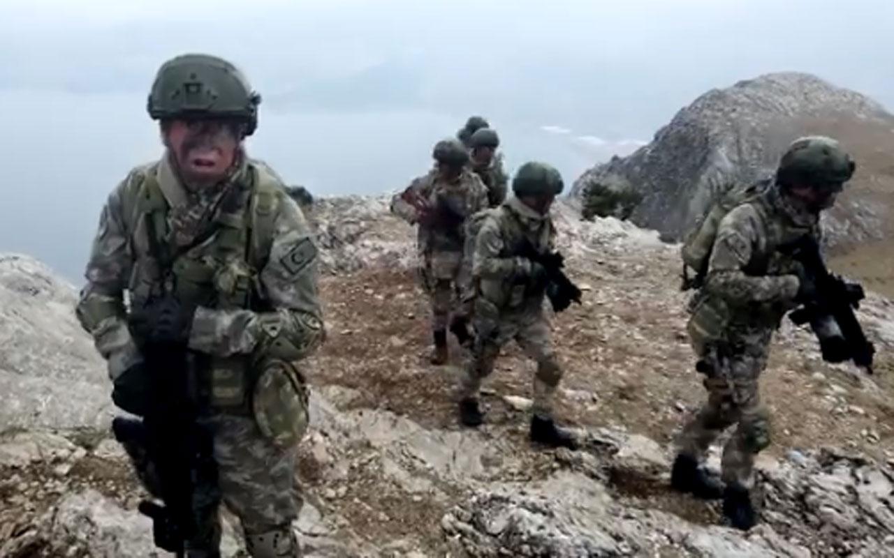 Milli Savunma Bakanlığının 'Komandolar Kuzey Irak'ta' klibi ilgi çekti