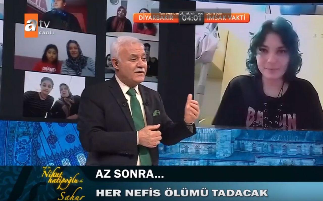 Nihat Hatipoğlu'na kahkaha attıran soru!