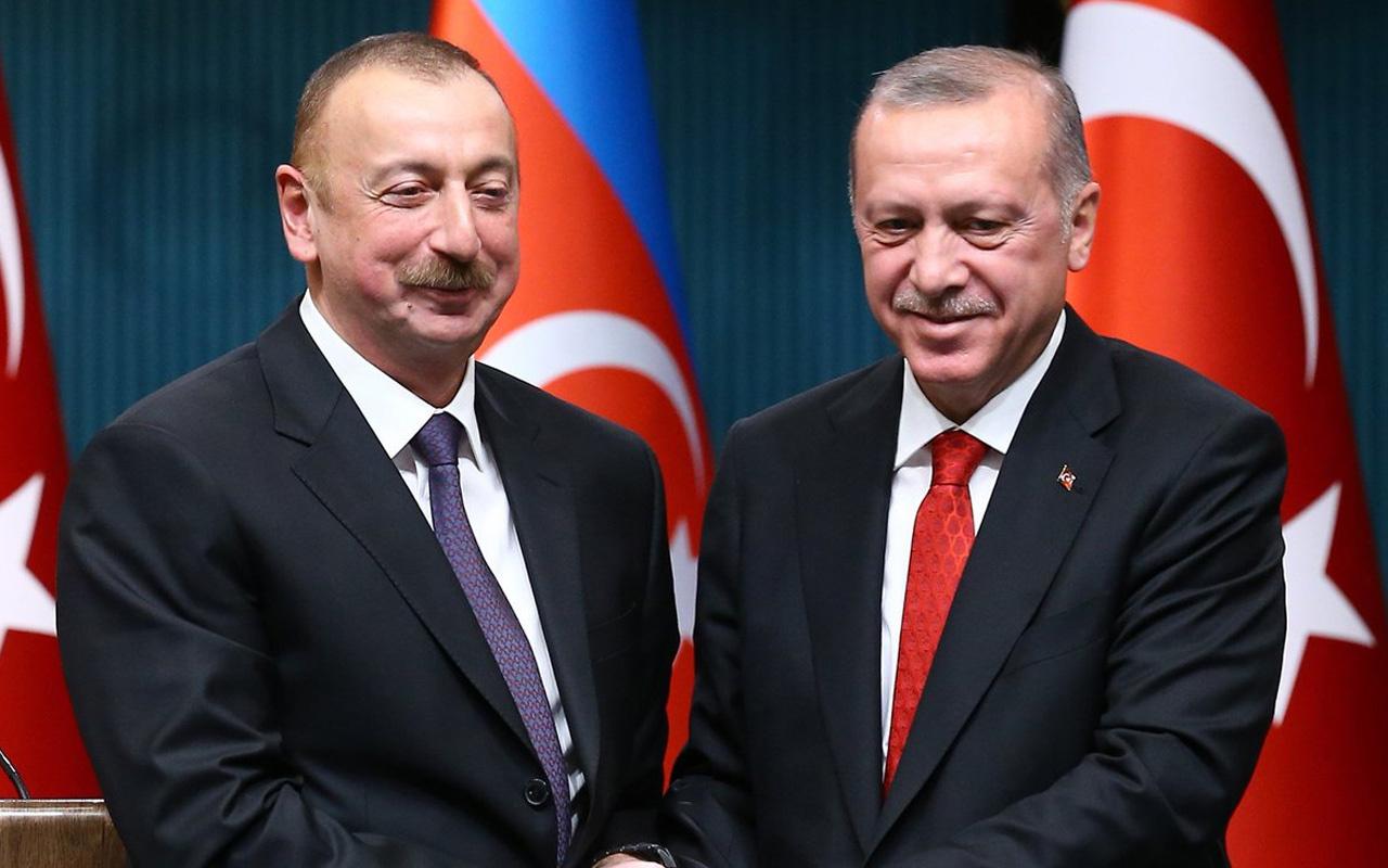 Cumhurbaşkanı Erdoğan, Aliyev'le görüştü: Ortak adım atılacak