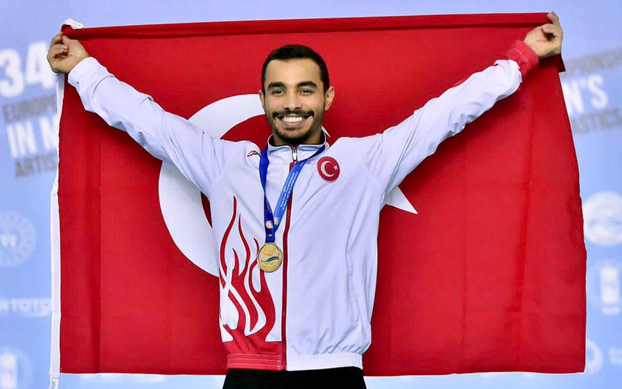 Milli cimnastikçi Ferhat Arıcan, Avrupa şampiyonu oldu