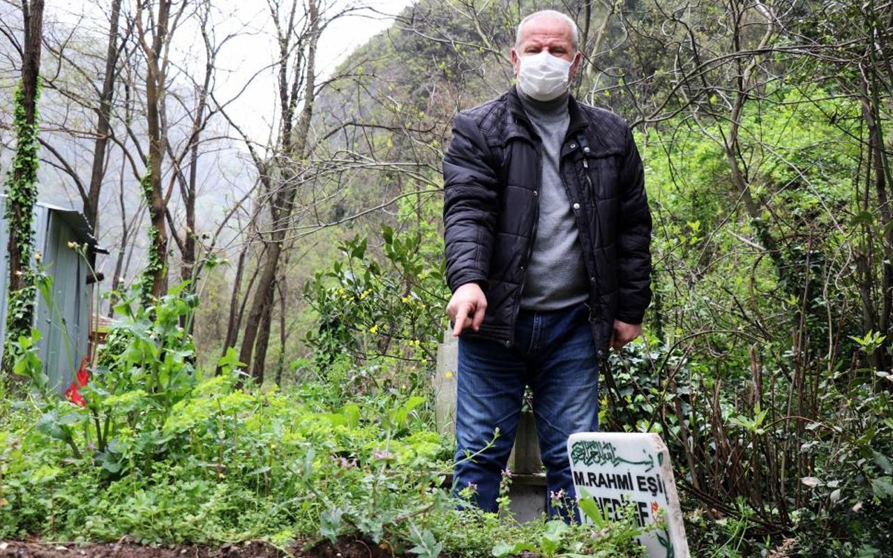 Sakarya'da annesinin mezarına gitti hayatının şokunun yaşadı: İçimden burukluk geldi