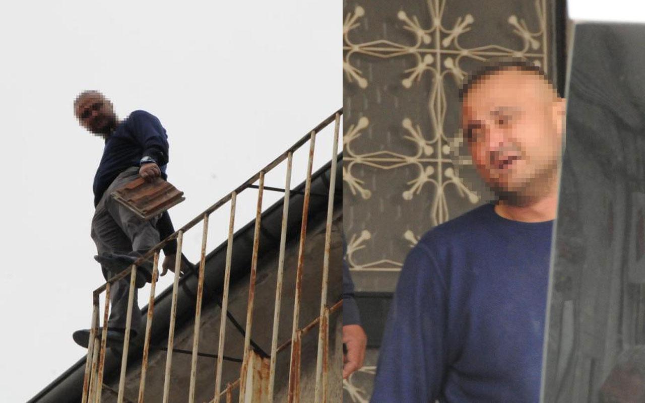 Teslim olmamak için intihara kalkıştı! Kayseri'de uyuşturucu ticareti şüphelisi tutuklandı