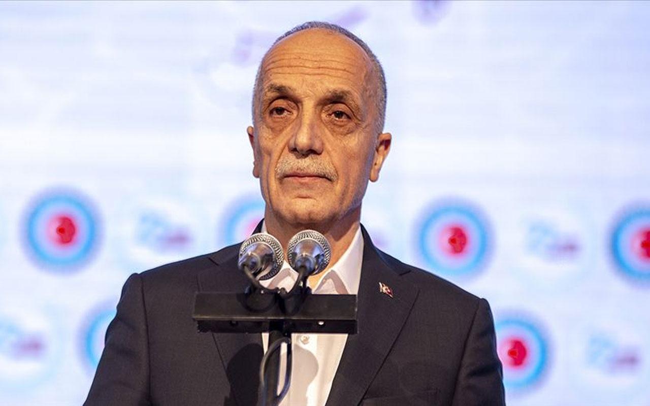Türk-İş'ten flaş karar! 1 Mayıs Emek ve Dayanışma Günü'nü sosyal medya ve dijital platformlarda kutlayacak