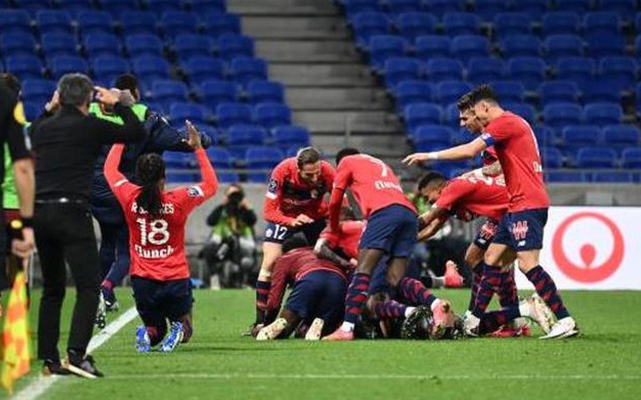 Lille, geriden gelip Lyon'u mağlup etti Burak Yılmaz maçı boş geçmedi
