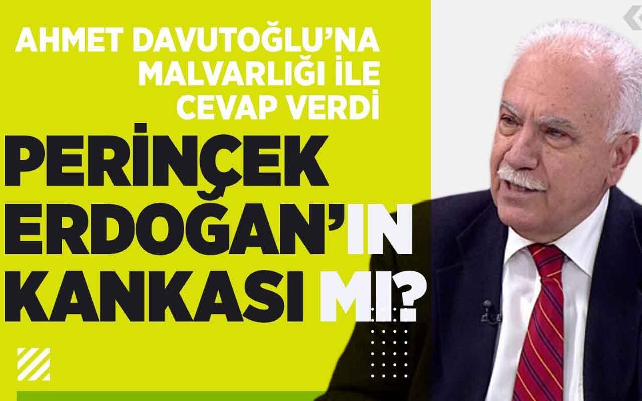 Doğu Perinçek Ahmet Davutoğlu'na mal varlığı ile cevap verdi!
