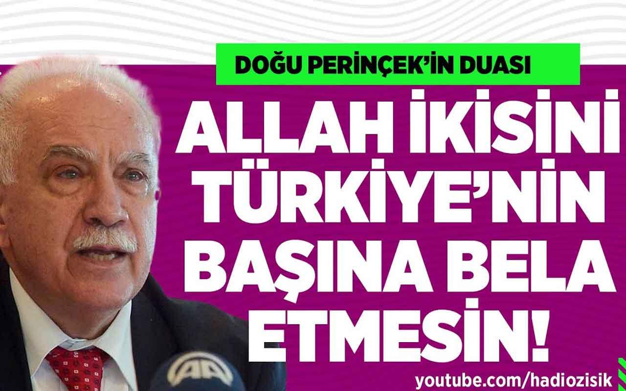 """Perinçek'in duası: """"Allah Türkiye'yi Akşener ve Kılıçdaroğlu'nun eline düşürmesin!"""""""