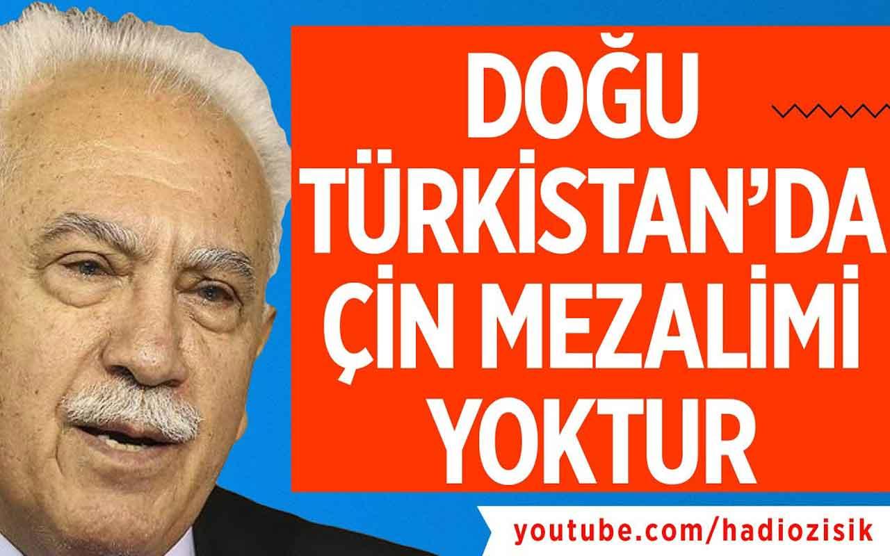 Doğu Perinçek'e göre Doğu Türkistan'da zulüm yokmuş!