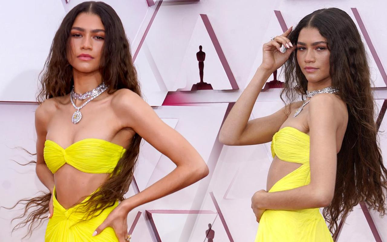 Oscar Töreni'nde Zendaya boynunda servet taşıdı! Kolyenin fiyatını duyan inanamadı