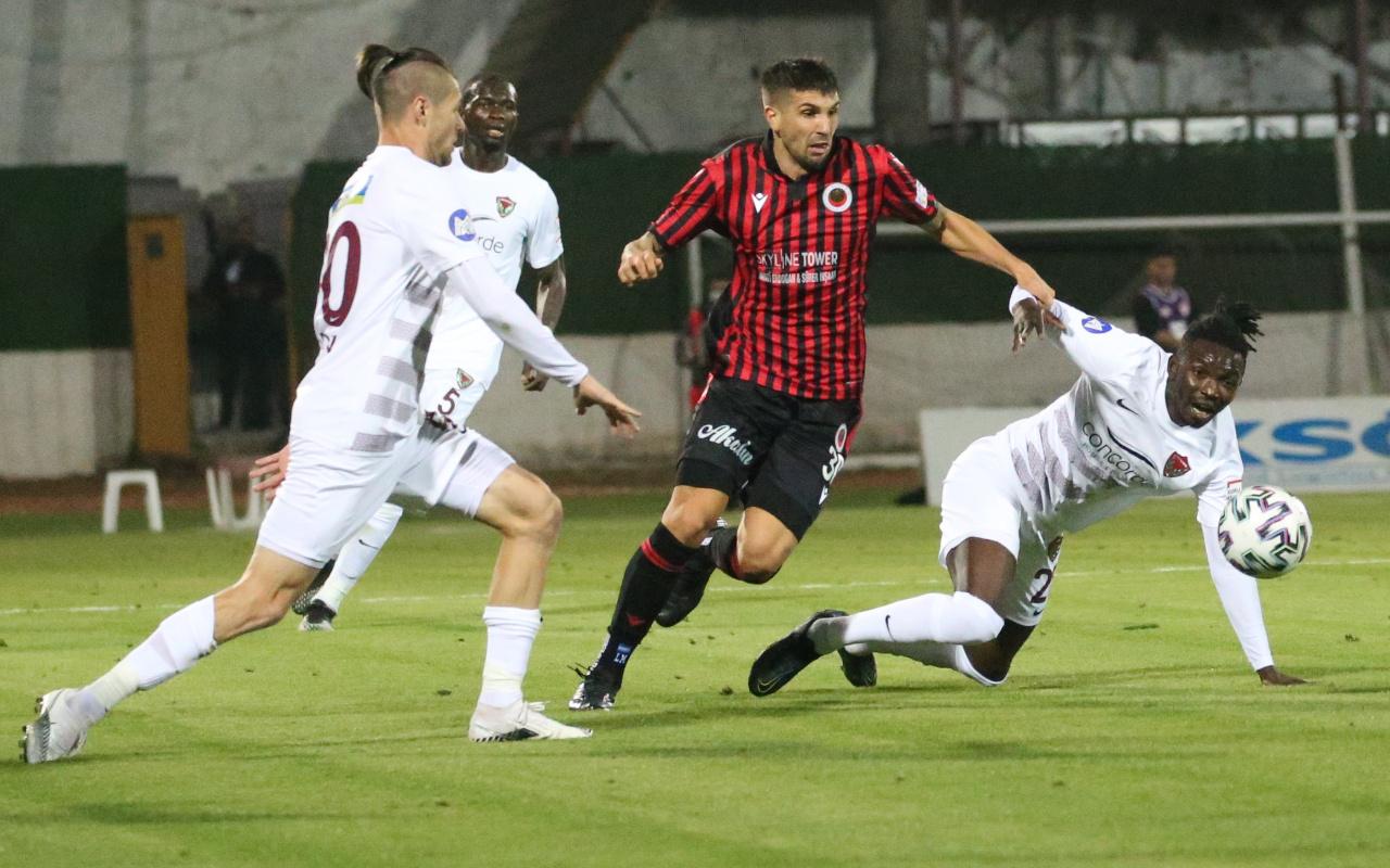Hatayspor'dan Gençlerbirliği'ne 3 gollü uğurlama