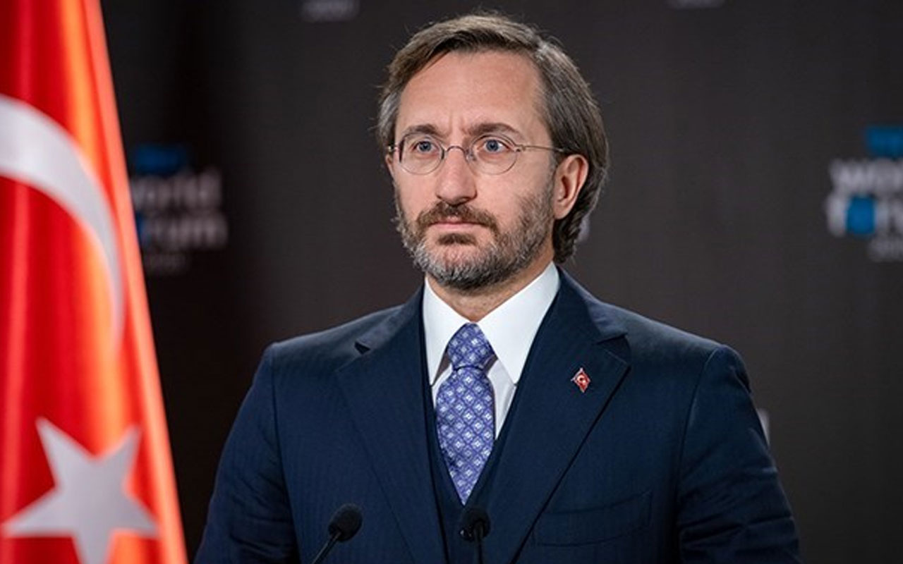 İletişim Başkanı Fahrettin Altun: Her bir şehidimizin hesabını kanlı terör örgütlerinden soracağız