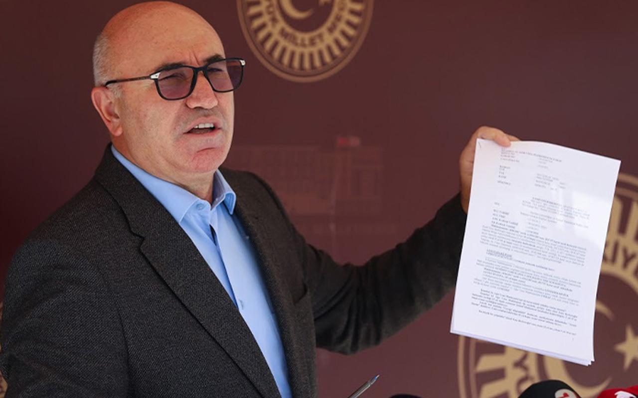 CHP'li Mahmut Tanal'dan 1915 olaylarına 'soykırım' diyen Biden'a suç duyurusu