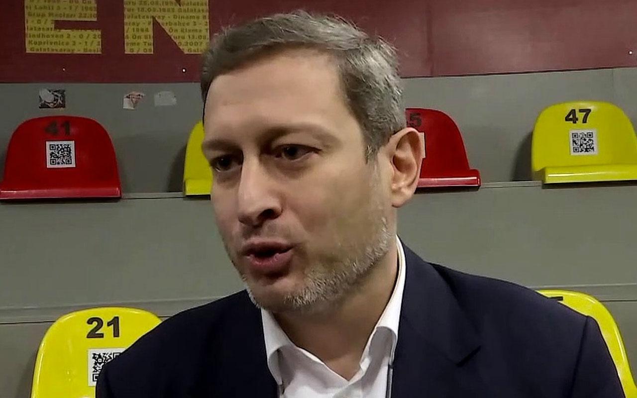 Burak Elmas, Galatasaray başkan adaylığı için resmi başvuruyu yaptı