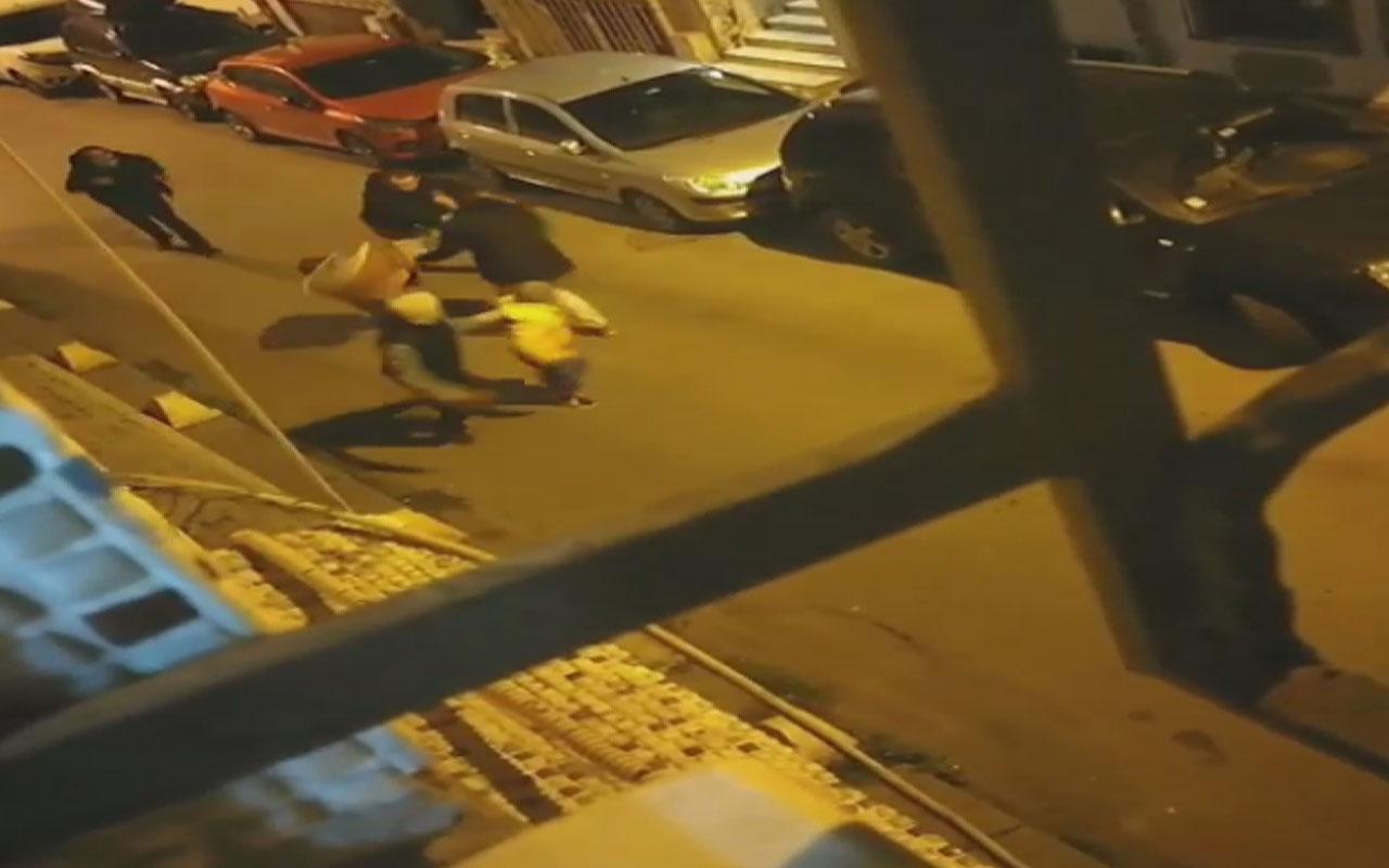 Şişli'de sahur vakti turist dehşeti; önce davulu bıçakladı sonra davulcuyu kovaladı