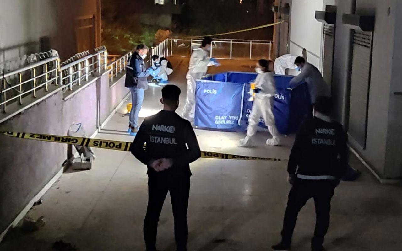 Polis baskınından kaçmak istedi sekizinci kattan atladı