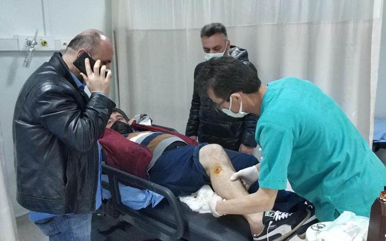 Samsun'da birden ayağında sıcaklık hissettiğini söyledi! Polisi inandıramadı