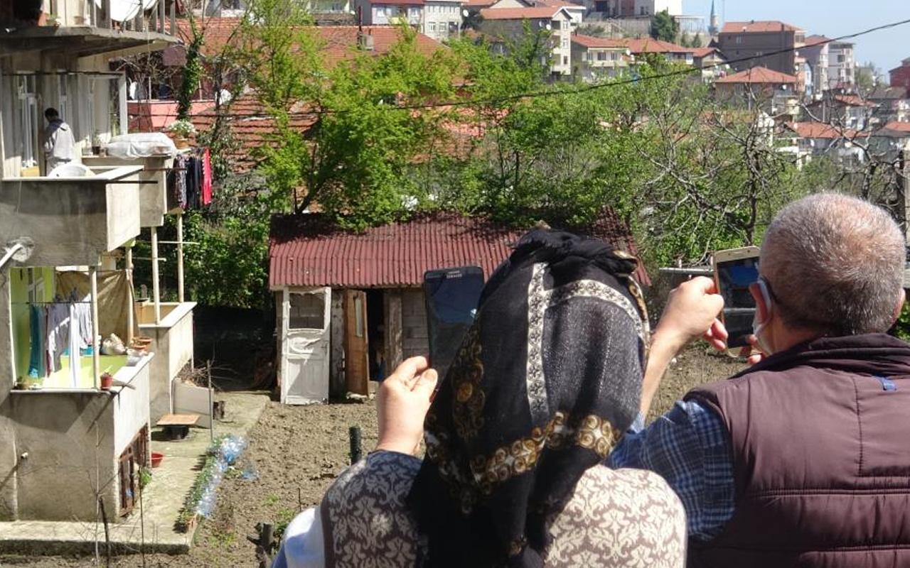 Zonguldak'ta kan donduran manzarayı gören telefona sarıldı! Film gibi izlediler