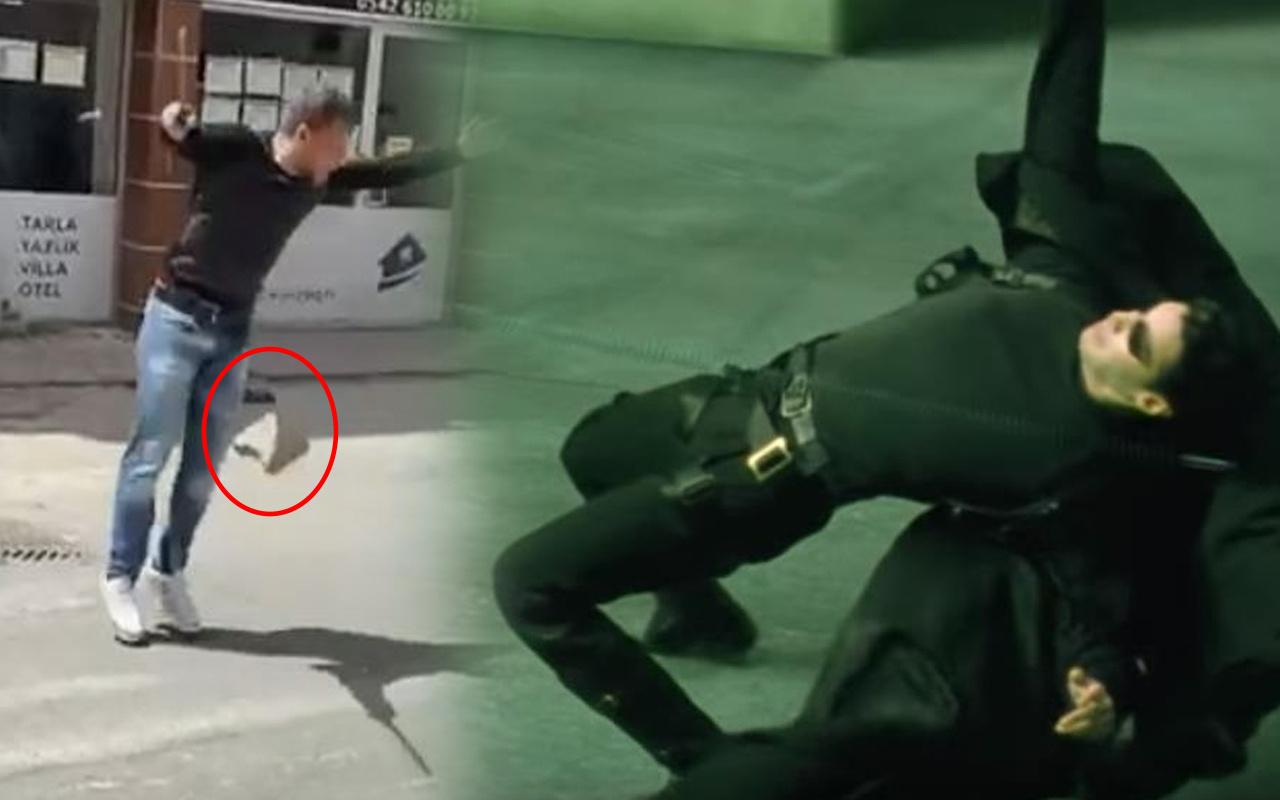 Ortalık karıştı bavullar uçuştu! Bursa'da Matrix filmi gerçek oldu