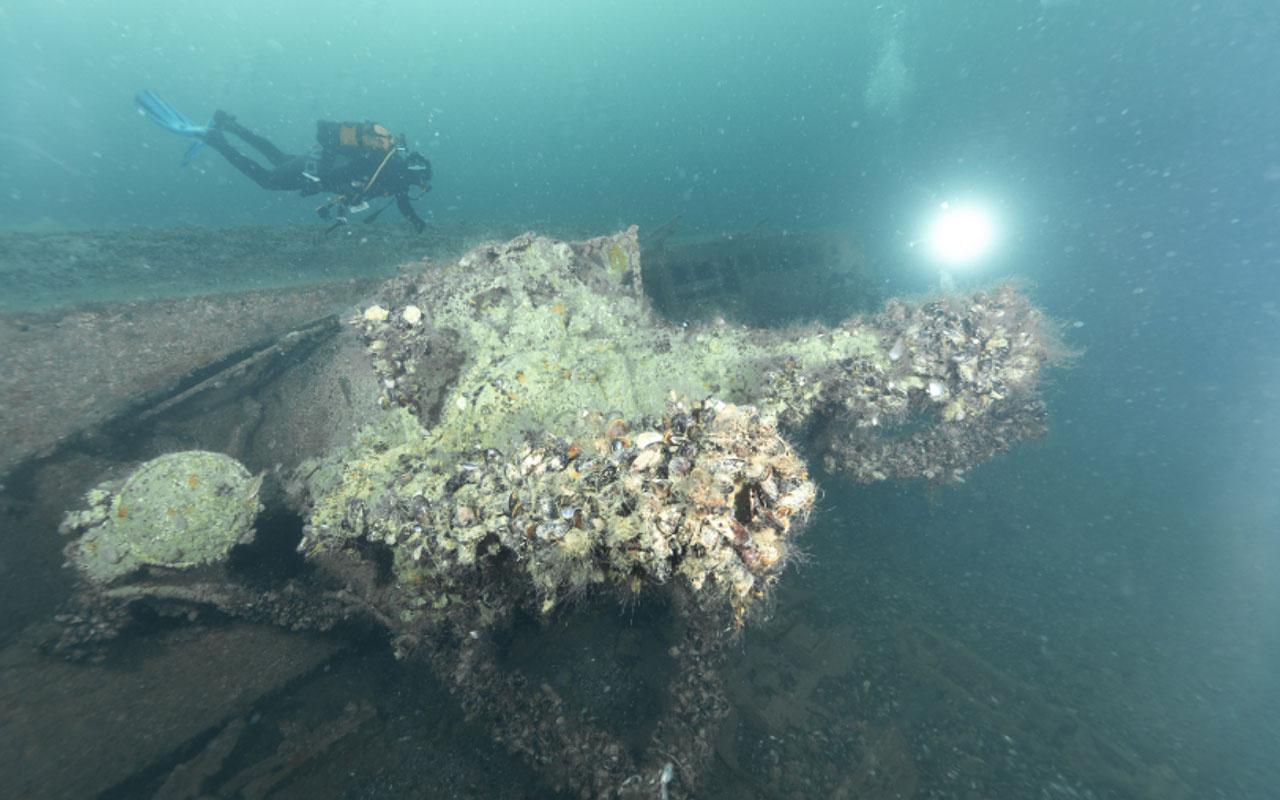 Kandıra'da 2. Dünya Savaşı'ndan kalma Alman denizaltısıyla ilgili heyecanlandıran gelişme
