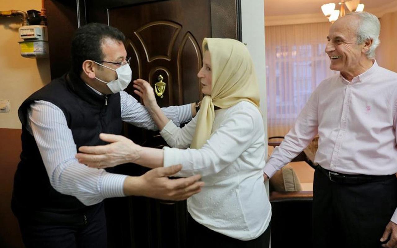 İstanbul Büyükşehir Belediye Başkanı Ekrem İmamoğlu'nu hiç böyle görmemiştik!