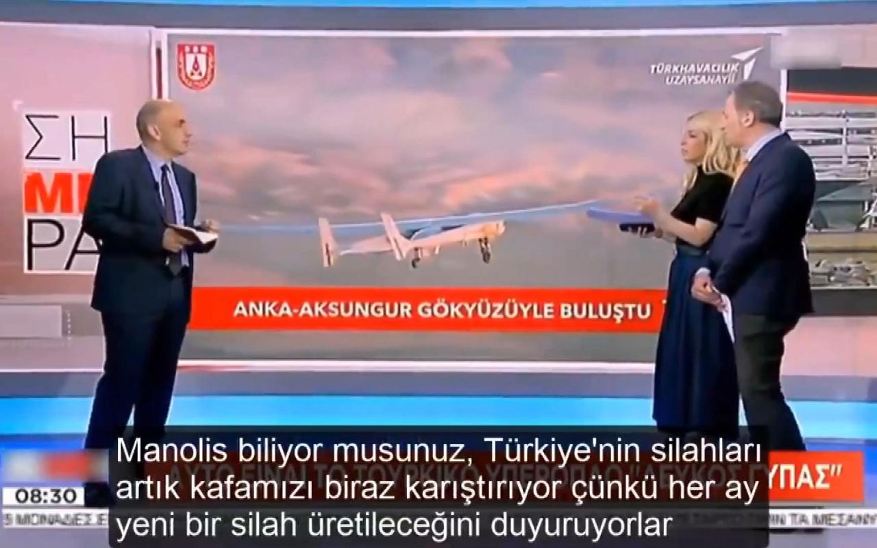 Yunan medyasında Aksungur korkusu Türkiye'nin silahları kafamızı karıştırıyor