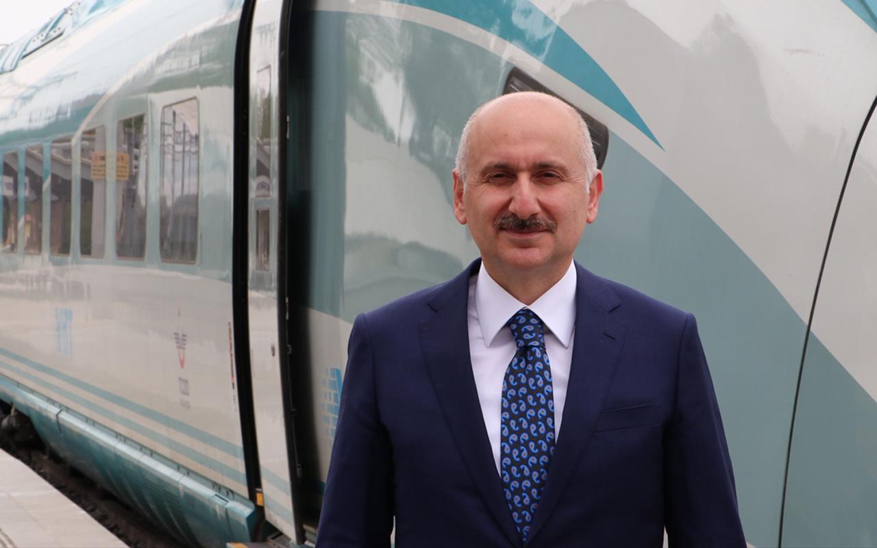 Konya-Karaman 40 dakikaya iniyor! Bakan Adil Karaismailoğlu test sürüşüne katıldı