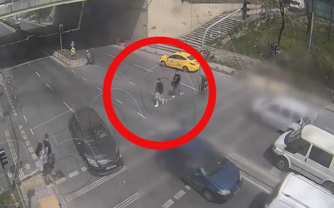 İstanbul otogarındaki 5 kilo patlayıcıyla yakalanan teröristler kamerada