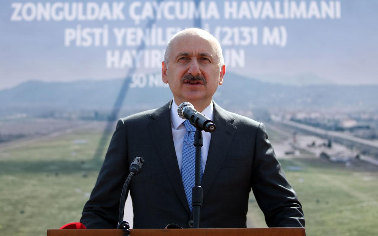 Ulaştırma ve Altyapı Bakanı Adil Karaismailoğlu açıkladı: Avrupa'da da 3'üncülüğe yükseldik