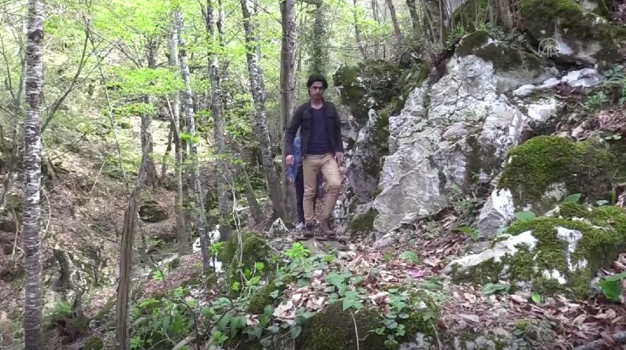 136 basamakla iniliyor! Samsun'da köylüler tesadüfen buldu insan eliyle...