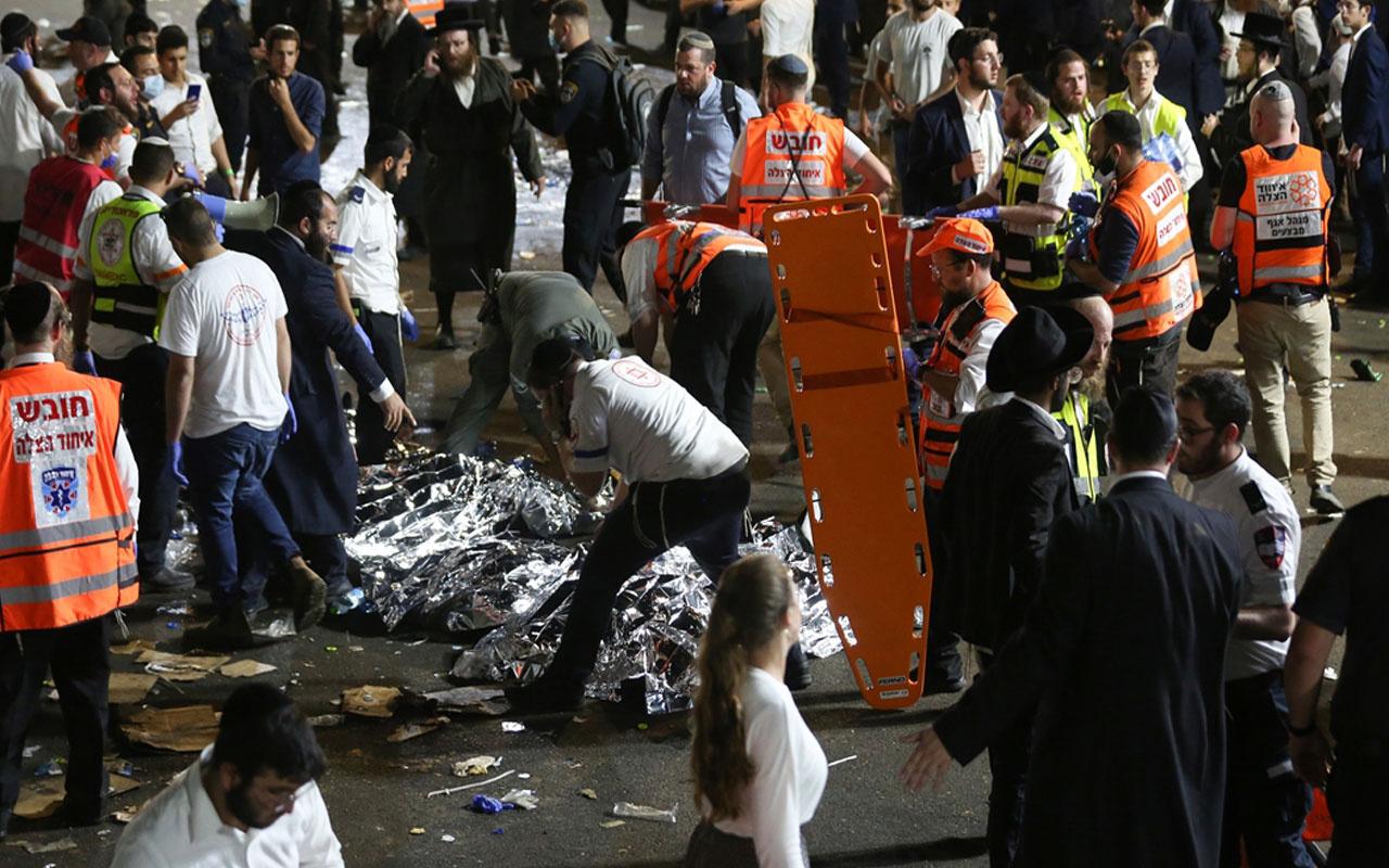 İsrail'de bayram kutlama alanında izdiham! 44 ölü, 103 yaralı var