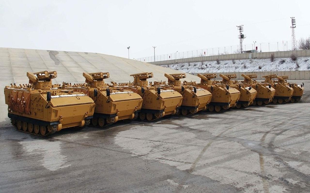 Türk Silahlı Kuvvetlerine 208 Kaplan 136 da Pars tanksavar aracı