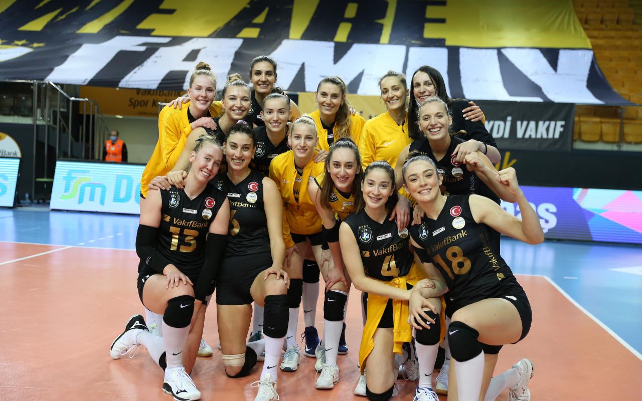 VakıfBank Şampiyonlar Ligi'nde şampiyonluk rekoru için sahaya çıkacak