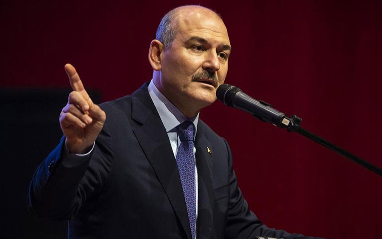Bakan Süleyman Soylu'dan, Samsunspor Başkanı Yıldırım hakkında suç duyurusu