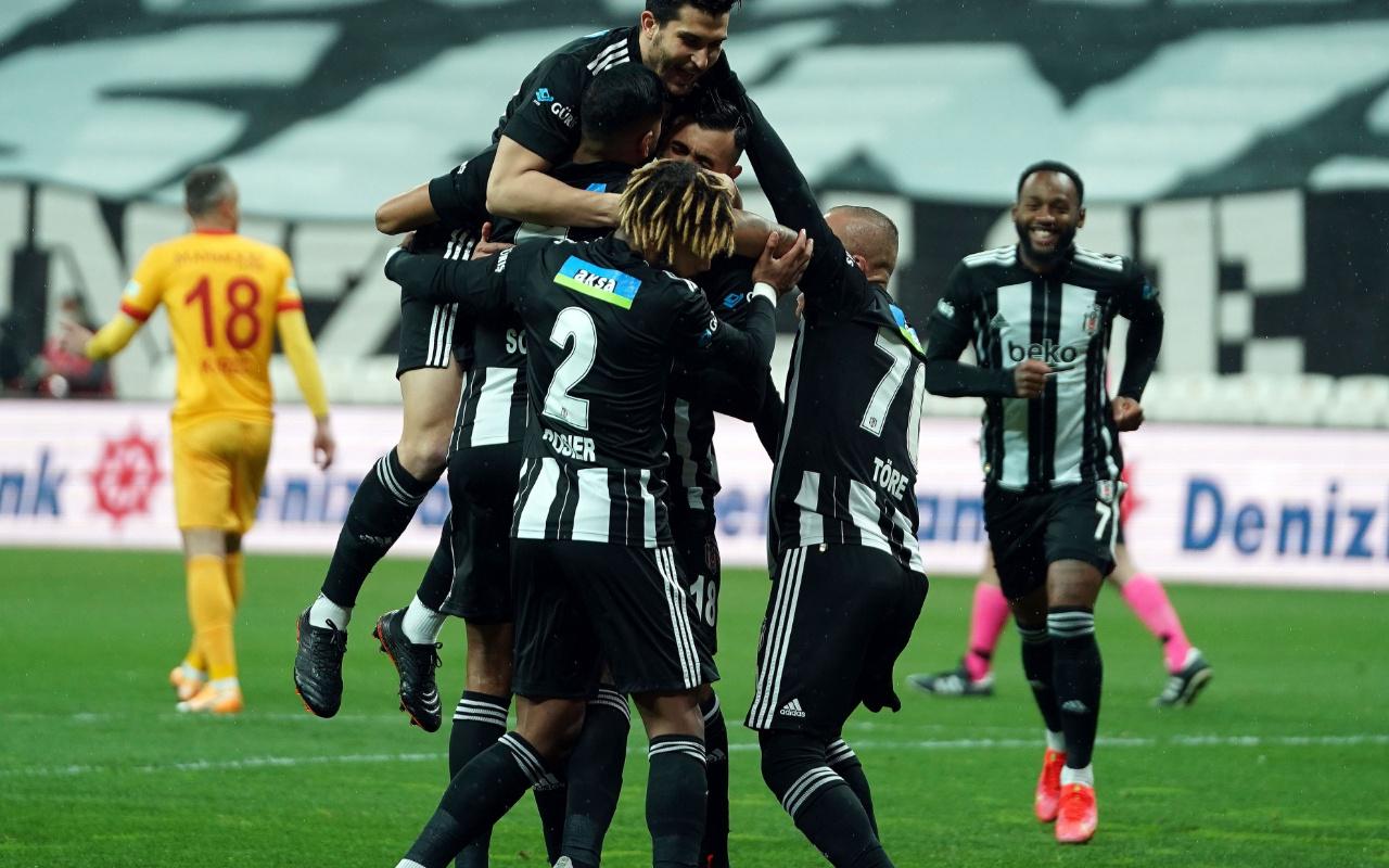 Lider Beşiktaş'ın konuğu Karagümrük