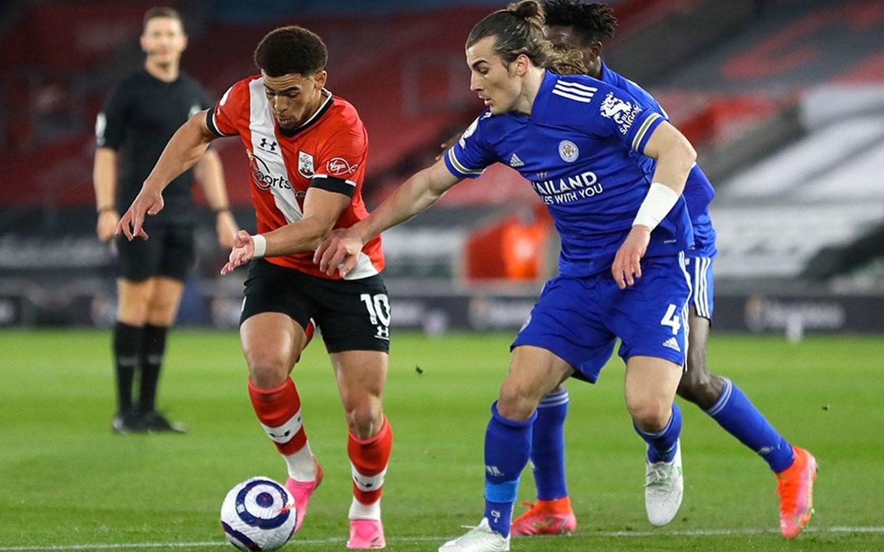 Çağlar'lı Leicester City, Southampton'a takıldı!