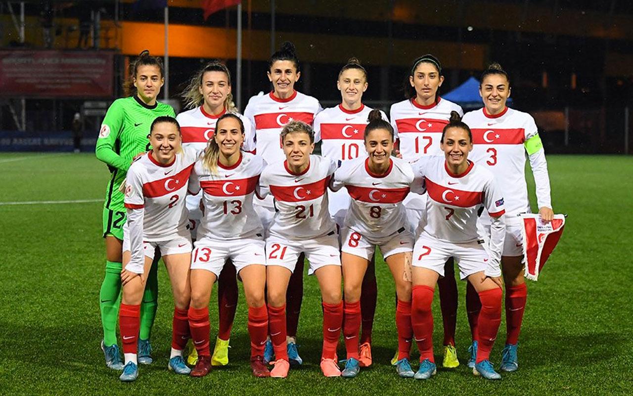 Kadın A Millî Takımı'nın Dünya Kupası Elemeleri maç programı belli oldu