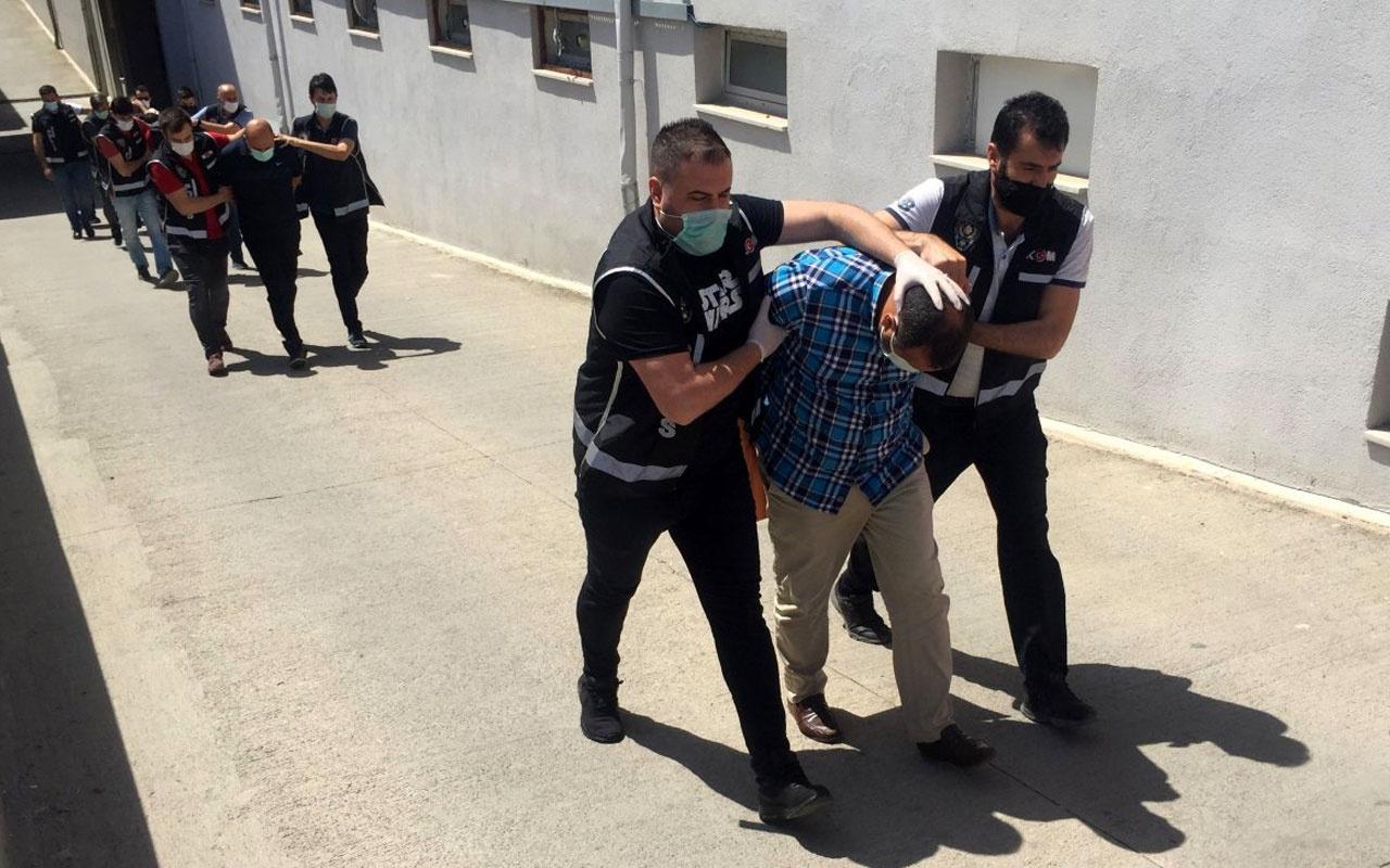 Adana merkezli 5 ile silah kaçakçılığı operasyonu 4 zanlı tutuklandı