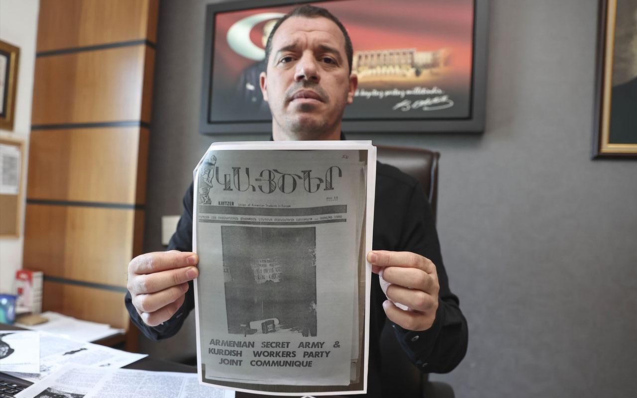 AK Parti'nin tarihçi milletvekili Özşavlı, İngiliz arşivinden belgelerlePKK-ASALA iş birliğini anlattı