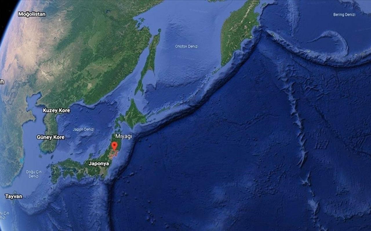 Japonya'nın Miyagi eyaleti açıklarında 6,6 büyüklüğünde deprem