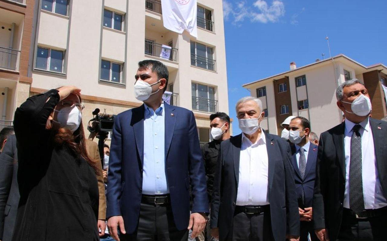 Bakan Murat Kurum: Elazığ'da 23 bin konut yapıyoruz biten konut sayısı 11 bini aştı