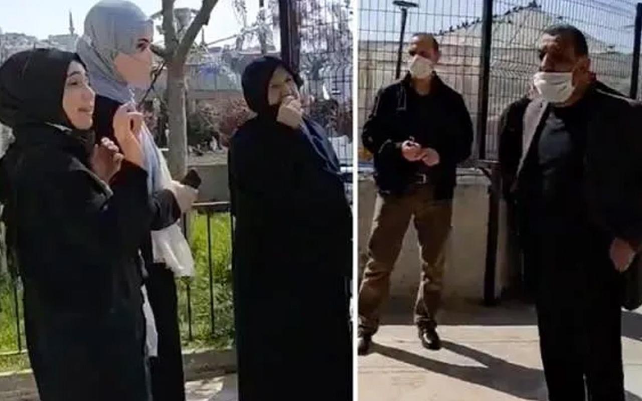 Üsküdar'da namaz kılmak isteyen kadının camiye alınmadığı iddiası! Kendisi açıklık getirdi
