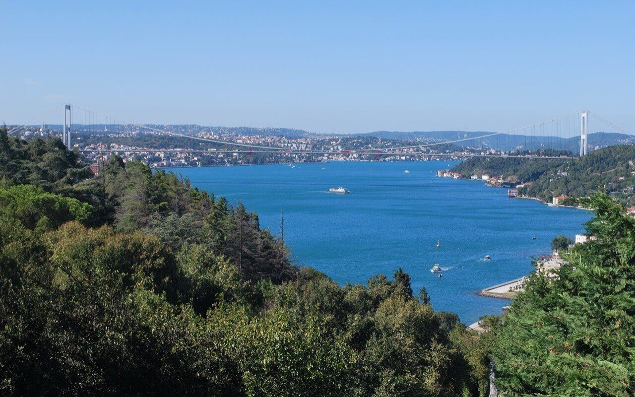 Onlarca gemi deniz salyangozu avı için İstanbul Boğazı'na akın etti