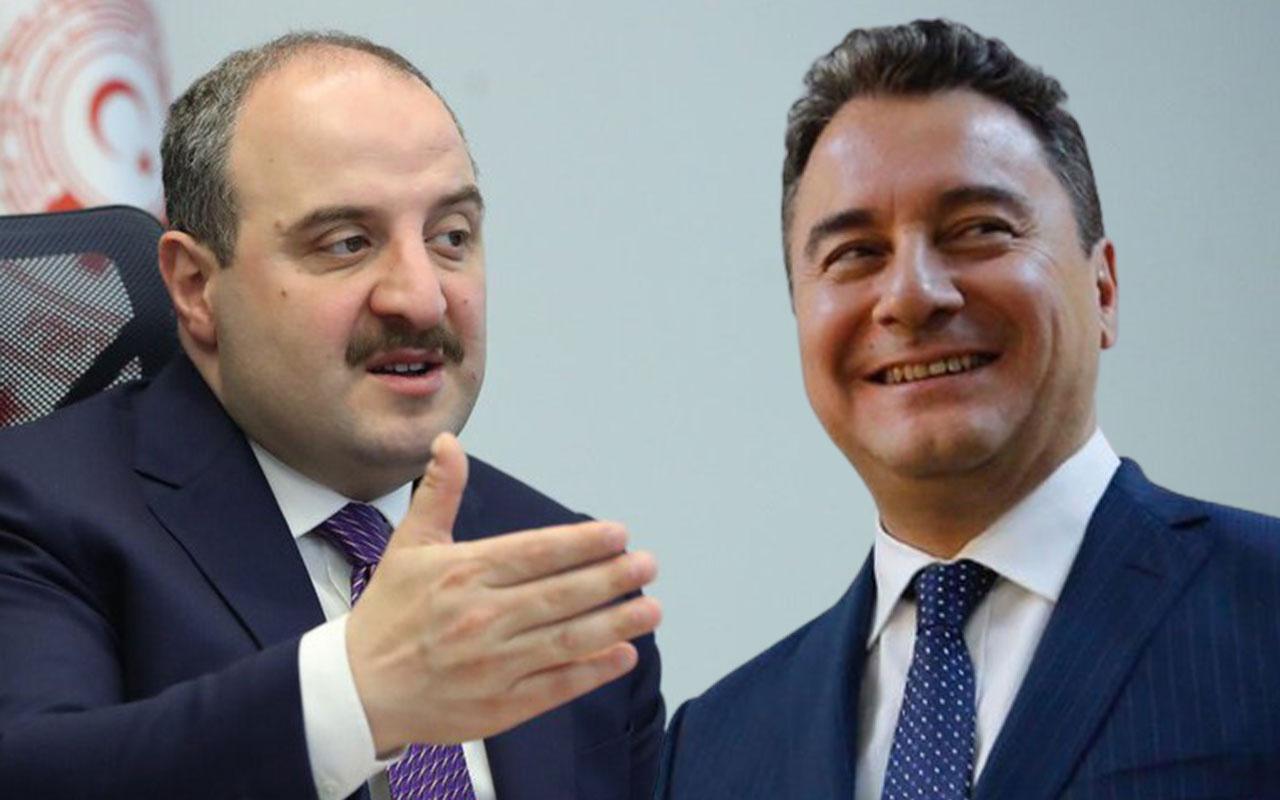 Sanayi Bakanı Mustafa Varank'tan 'Bana Fren Ali demişlerdi' diyen Ali Babacan'a olay cevap
